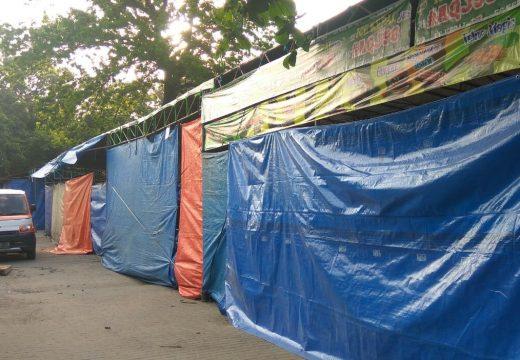 Puluhan Stan Syawalan di Rembang Belum Laku