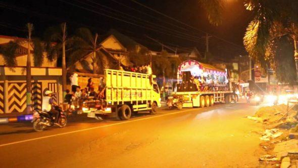 Polisi Batasi Konvoi Takbir Keliling Masuk Pusat Kota