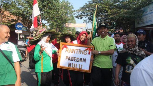 Ribuan Warga Nahdliyin Padati Alun-alun Kampanyekan Germas