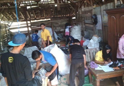Kurangi Limbah, Pemuda Desa Jukung Dirikan Bank Sampah