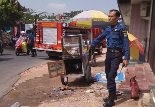 Lagi-lagi Kebakaran Akibat Kompor Terjadi di Rembang