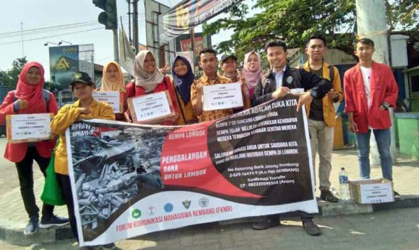 Galang Dana Untuk Bencana Lombok, FKMR Hasilkan Delapan Juta