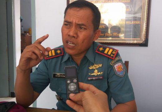 TNI AL Rembang Ringkus Sepuluh Orang Penambang Pasir Laut