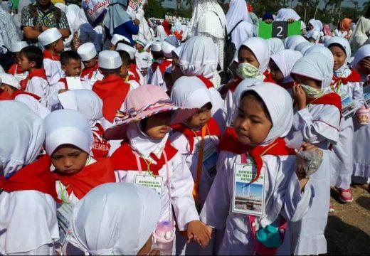 Tanamkan Nilai Agama, 1.200 Kanak-kanak Diajari Manasik Haji