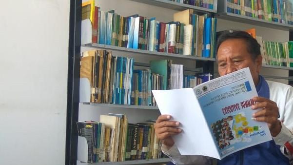 PPP Tasikagung Ajak Nelayan Gemar Membaca