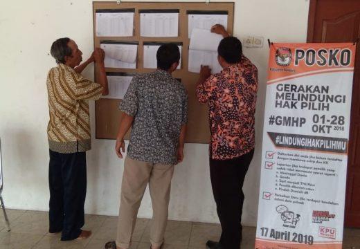 KPU Rembang Gelar Uji Publik GMHP Secara Serentak