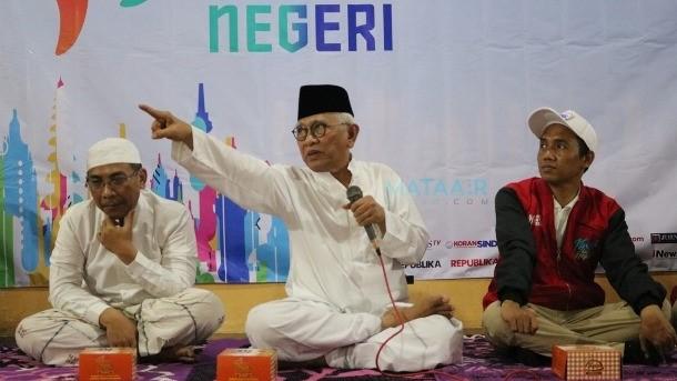 Pesan Gus Mus Kepada Ansor: Jaga Kemanusiaan Keislaman dan Keindonesiaan