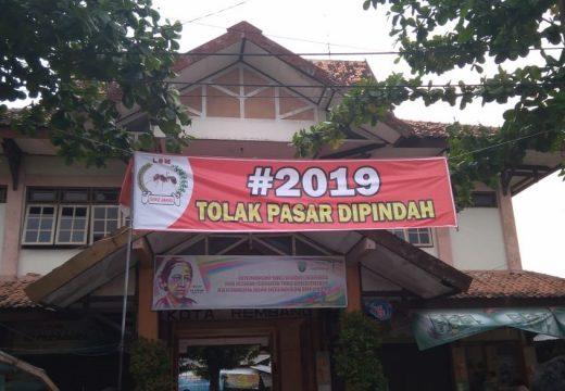Rencana Pemindahan Pasar Rembang Ditolak Pedagang