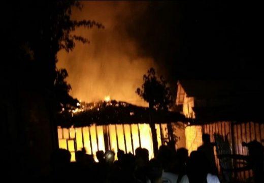 Lagi, Rumah Milik Janda Ludes Terbakar