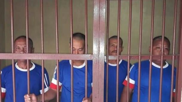 Empat Orang Diringkus Polisi Saat Asyik Berjudi