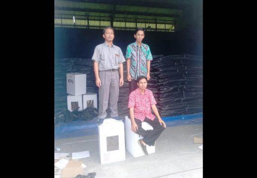 KPU Rembang Klaim Kotak Suara Bisa Tahan Beban 100 kilogram
