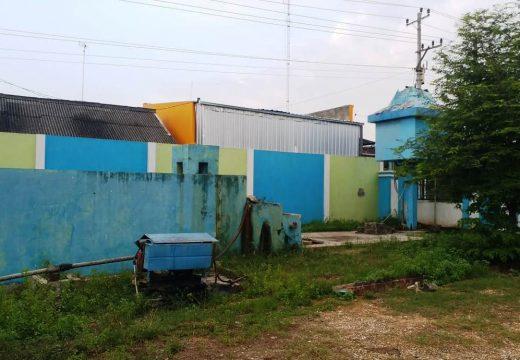 Bumdes Pamotan Pertanyakan Pengelolaan Air Depan Balai Desa