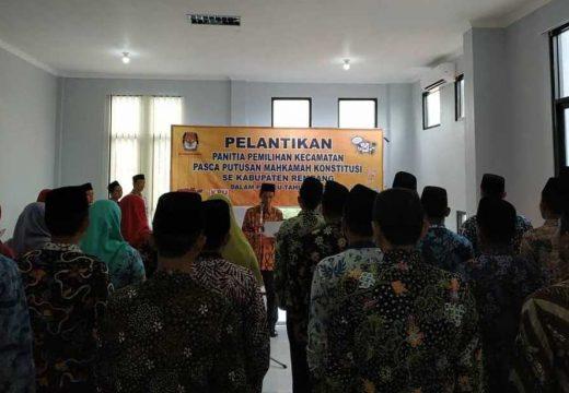 KPU Rembang Menambah 28 Orang Anggota PPK Baru