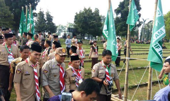 LP Maarif PCNU Rembang Kirim Dua Kontingen ke Pergamanas
