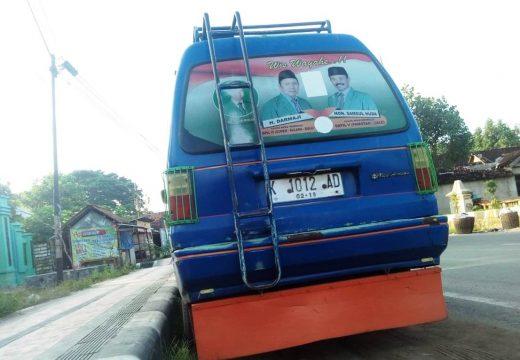 Terkendala Anggaran, Stiker Pada Angkot belum Ditertibkan