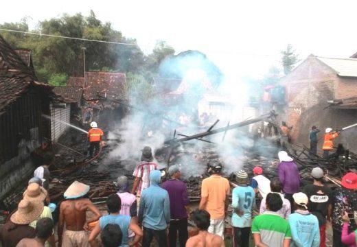 Satu Rumah di Desa Banggi Ludes dilalap Sijago Merah