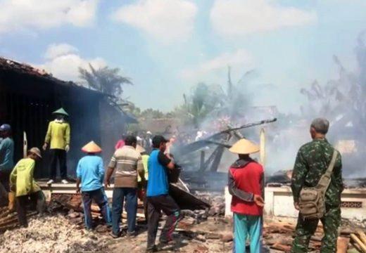 Lima Rumah Terbakar di Babaktulung