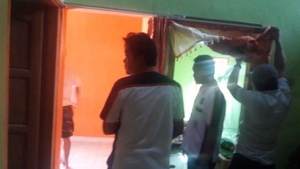 Rumah Guru di Leteh Dibobol Maling, Motor Raib