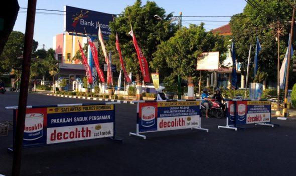 """Dipakai """"Rembang Kreatifest"""", Jalan Kartini Ditutup Selama Tiga Hari"""