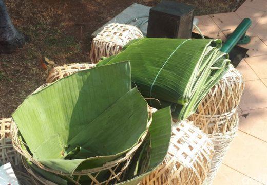 Pemkab Anjurkan Pakai Besek Bambu Bungkus Daging Kurban
