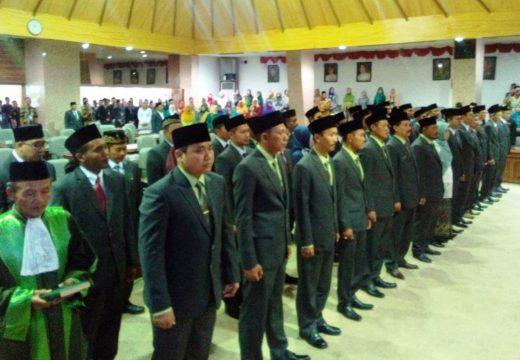 DPRD Rembang Periode 2019-2024 Resmi Dilantik