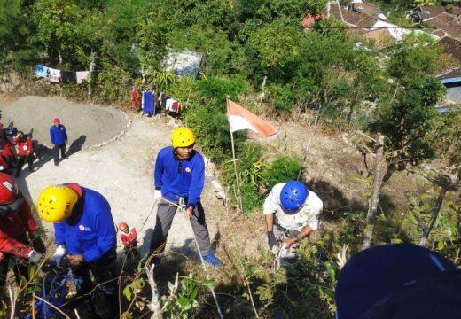 Antisipasi Bencana, PMI Jateng Gelar Latgab Di Trenggulunan