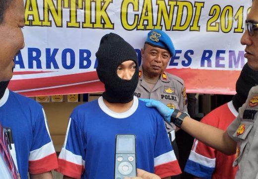Lima Orang di Rembang Diringkus Polisi Gara-gara Narkoba