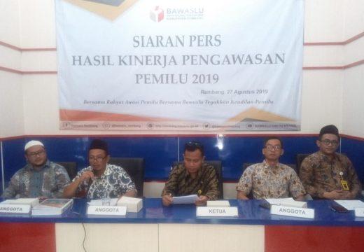Bawaslu Rembang Habiskan Rp12,5 Miliar Selama Pemilu 2019