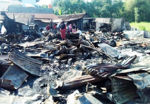 Pemdes Sluke Segera Relokasi Pasar yang Terbakar