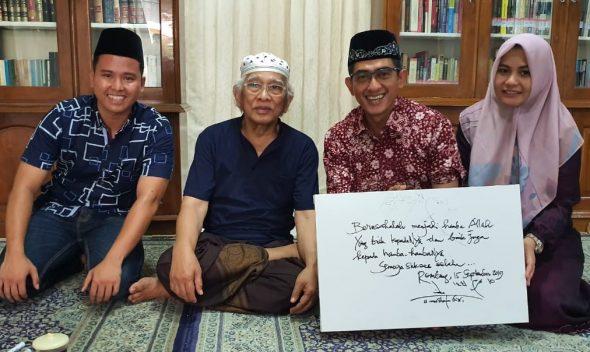 Purnatugas di Rembang, Kapolres Pungky Diwejang Gus Mus