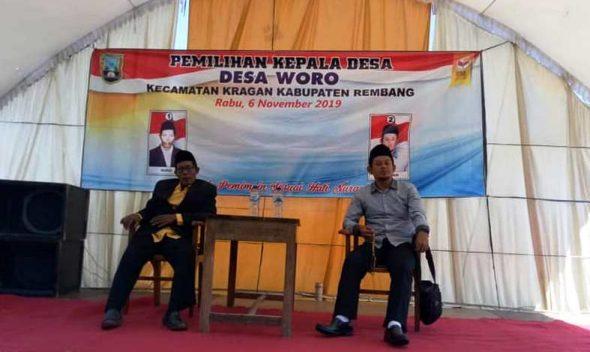 Pilkades Serentak di Rembang Berlangsung Aman