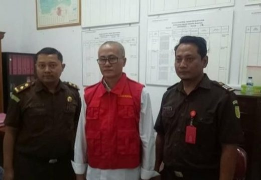 Mantan Kades Gelapkan Dana RTLH Ditahan