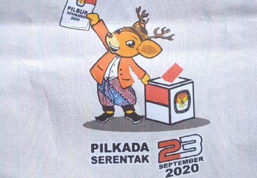 KPU Rembang Rilis Maskot Pilbup 2020