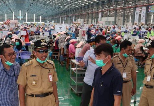 Bupati Rembang Pastikan Pelaku Industri Ikut Waspada Corona