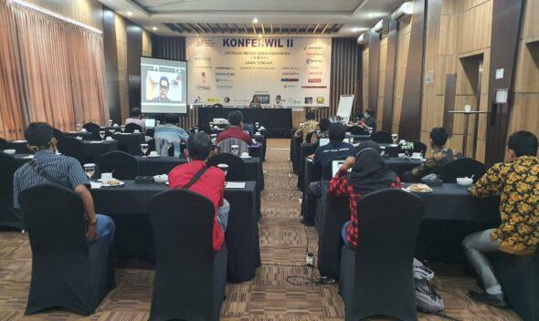 Konferwil II AMSI Jateng Jadi Ajang Diskusi Antar Media Siber