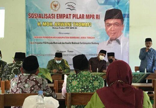 Dewan Pendidikan Rembang Minta Supaya Madrasah Diperhatikan