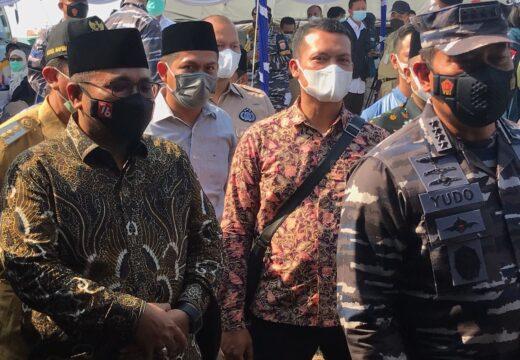 Gandeng GP Ansor, TNI AL Gelar Vaksinasi di Rembang