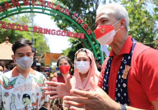 Ganjar dan Yenny Wahid Hadiri Deklarasi Desa Damai