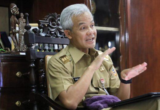 Gubernur Ganjar Sebut Keterbukaan Informasi Publik di Jateng Bagus