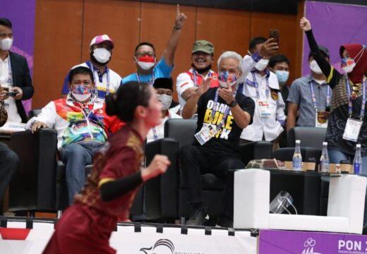 Tim Sepak Takraw Jateng Gotong Emas di PON XX Papua