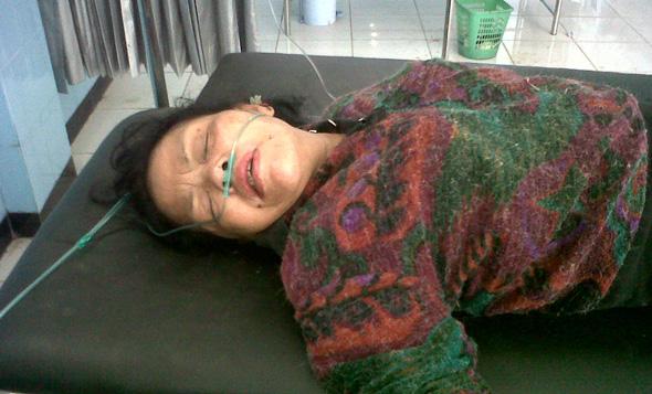 Perempuan Tergeletak di Bong China Warga Temanggung Korban Perampokan