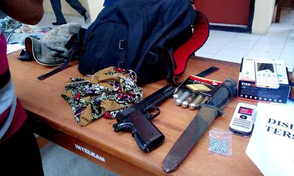 Polisi Dalami Kepemilikan Soft Gun Residivis Pembunuh Rukmini