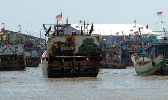 Nelayan Rembang Mogok Melaut Protes Larangan Cantrang