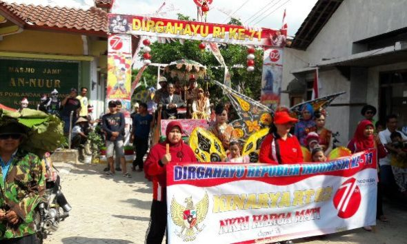 Karnaval Agustusan, Potensi Desa Ramai Diperkenalkan