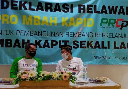 Bacabub Hafidz Resmikan Relawan Propid