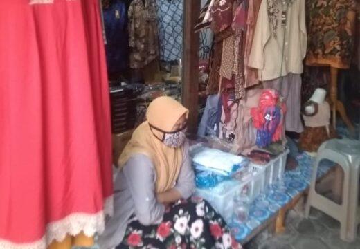 Kesadaran Atas Protokol Covid-19 di Pasar Rembang Masih Rendah