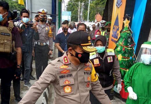Periksa Pospam Nataru di Rembang, Kapolda Luthfi: Jateng Kondusif