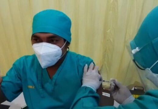 Vaksinasi Nakes Rembang Ditargetkan Selesai Pekan Ini