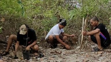 PWI Rembang Gelar Aksi Peduli Pulau Gede