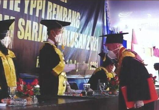 Tahun Ini YPPI Rembang Mewisuda 142 Mahasiswa
